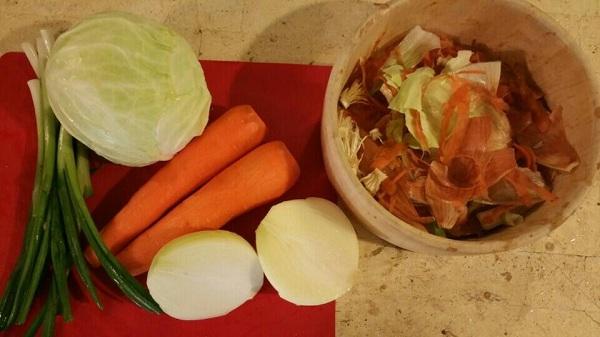 음식물 남기지 않기, 퇴비로 재활용하기 환경운동 실천