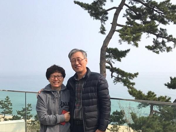 강릉나들이 – 아내 한선화 님과 남편 권교중 님
