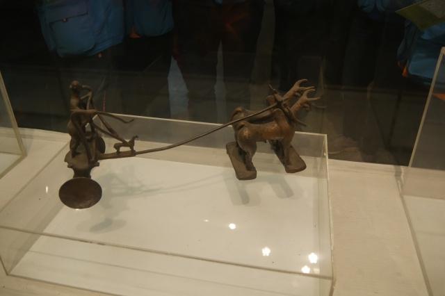 하라파 시기, 두 마리의 소가 끄는 쟁기