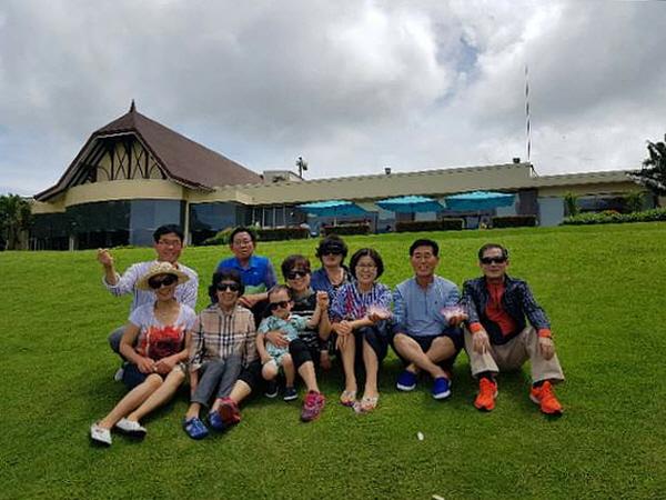 2017년 가족 모두 필리핀에서
