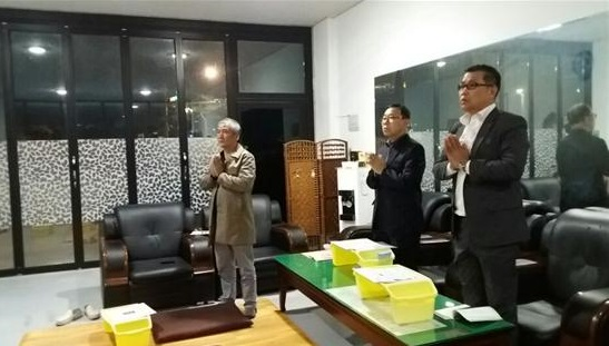 왼쪽부터 김용문, 김영주, 김영동 님