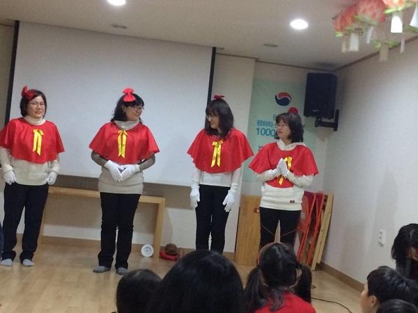불교대학 학생들의 공연