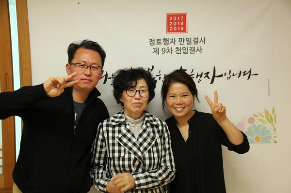 부처님 오신 날 가족과 함께- 가장 왼쪽에 송용훈님