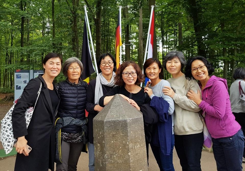 2018 유럽지구 해외정토행자대회에서