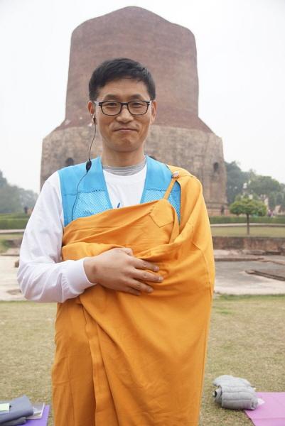 인도성지순례. 부처님의 초전법륜성지인 사르나트