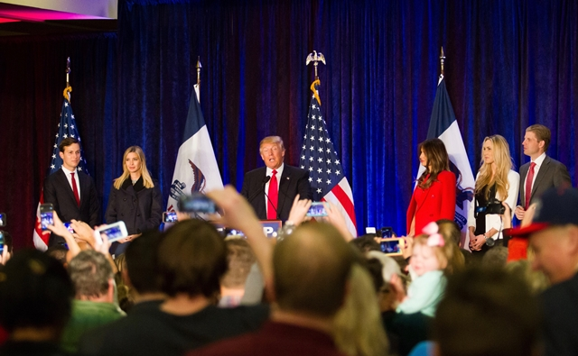 자료사진 : 트럼프 당선
