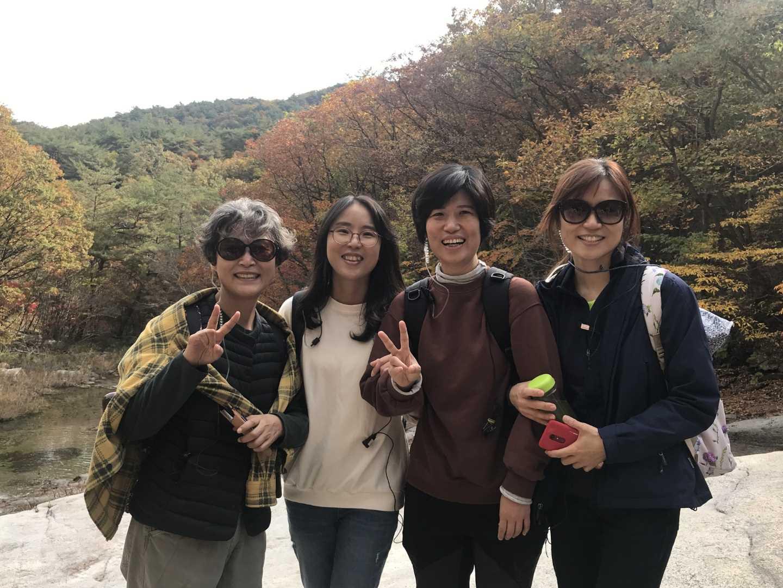 2019년 10월 문경 활동가 나들이(오른쪽 첫 번째)
